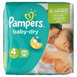 Pampers 30x baby dry N°4 (multi)