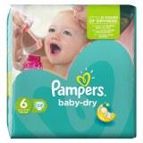 Pampers 33x baby dry N°6 (multi)