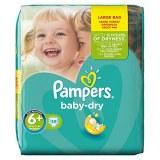 Pampers 38x baby dry N°6+ (multi)