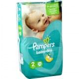 Pampers 58x baby dry N°2 (multi)