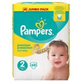 Pampers 68x new baby N°2 (multi)