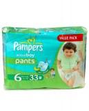 Pampers Active Boy Pants 33 pc. N°6 (16+ Kg) (multi)