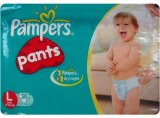Pampers baby dry, couches pour bébés