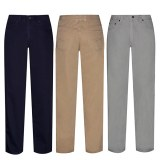 Pantalons Homme 5 poches .