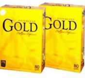 Paperline GOLD A4 PAPIER DE COPIE 80GSM / 75gsm / 70gsm 102-104%