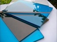 Custom made color polycarbonate sheet in 100% virgin Lexan/Makrolon resin/10 years warr...