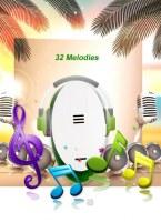 Hotel Office Gate 32 Melodies Long-distance sans fil de musique électronique Porte Bell