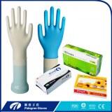 ECO-friendly CE ambidextre médicale Vinyle examen gants non stériles