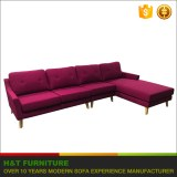 Most popular European Style configurable Sectional Corner Sofa / fabric sofa