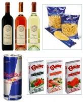 Pâtes, Vins et Epices en destockage et en suivi d'origine Italie