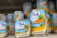 Peak de lait évaporé 170 gr - 160 gr Tin