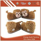 Plush Monkey Slippers Filling 100% PP Cotton Super Comfortable