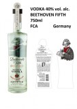Premium vodka Fifth Beethoven 40% vol.alcohol