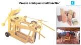 Presse à brique multifonction CTC01