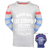 12x Pulls manches longues Lee Cooper du 2 au 12 ans