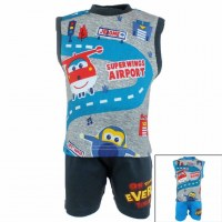 10x ensembles 2 pieces super wings du 3 au 24 mois