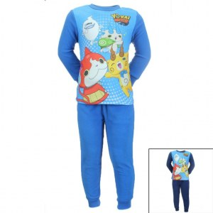 12x Pyjamas polaires Yo-kai Watch du 2 au 8 ans