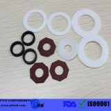 Customize High quality PTFE Gasket Teflon gasket F4 washer