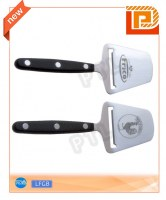 2-in-1 stainless steel cheese peeler with PP handle