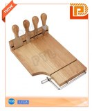 Magnetic cheese set with wire cutter(5 pieces)
