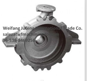 OEM Precision Casting Pump Body for Water Pump