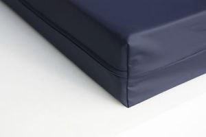 Imperméable en vinyle / PVC enduit de haute qualité médicale Couvre-matelas avec fermet...