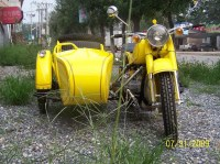 Hornet Motorcycle Sidecar 750CC 32HP (CJ750Y)