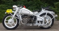 changjiang 750CC motorcycle sidecar with white color