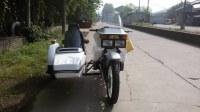 Customized Xiangjiang 750cc motorcycle sidecar
