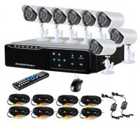 2.5inch HDD mini 8ch DVR Kits with 8pcs 600TVL camera TTB-7108ME8 :www.ttbvs.com
