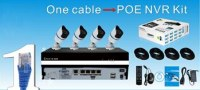 4CH POE NVR Kit with 2Megapixel 4pcs Weatherproof IP Camera AK-K8020-4W :www.ttbvs.com