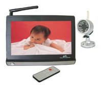 "2.4GHz Wireless 7.0""LCD monitor with remote control camera TTB-70BMT :www.ttbvs.com"