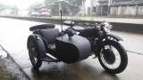 Customized grey color 750cc motorcycle sidecar