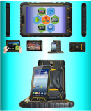 ST907 rugged tablet pc with barcode scanner and RFID reader