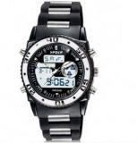 HPOLW 12583/Montre chrono pour homme etanche jusqu'a 30 metres