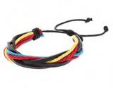 Bracelet colore mixte multi-lanieres