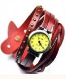 Grossiste Montre tendance vintage, avec bracelet lacet, cloute. Femme