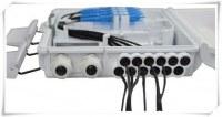 Couche FTTH 16 Port Lower fibre optique Résiliation Box / 1x12 PLC Splitter Boîte de di...