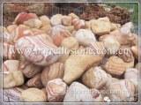Garden landscaping rock pebble
