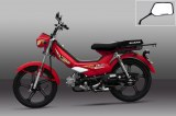 NOUVEAUTÉ Motocycle 50cc