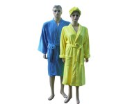 Microfiber sleepwear bathrobes