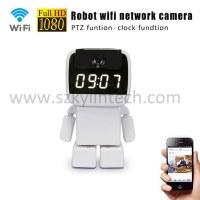 Robot wifi cctv ip caméra sans fil avec réveil