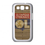 Coupe de la Ligue football europe Olympique Lyon logo sur Samsung Galaxy S3 protection...