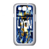 Championnat de France de football de Ligue 1 club Olympique Lyon logo affiche sur Samsu...