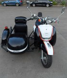Electric motorcycle with sidecar ----electric motorcycle MINI KAIXINDUDU