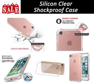 Résistant aux chocs en silicone Clear Case