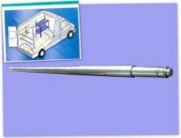 Aluminium load shoring pole
