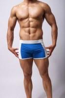 De sport Fitness Homme Course à pied Cyclisme Natation Bodybuliding Shorts Sous-vêtemen...