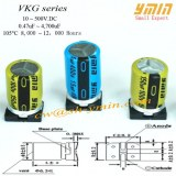 Standard Capacitor SMD Aluminum Electrolytic Capacitor Complying with RoHS