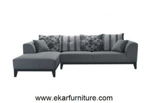 Canapé de style moderne canapé en coupe canapé en tissu YX276